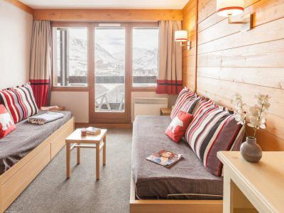 Vacances en montagne Appartement 3 pièces 6-7 personnes - Résidence Pierre & Vacances l'Ours Blanc - Alpe d'Huez