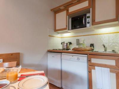 Holiday in mountain resort Résidence Pierre & Vacances le Peillon - Méribel - Kitchen