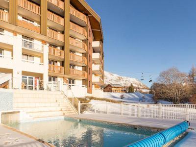 Location Alpe d'Huez : Résidence Pierre & Vacances les Bergers été