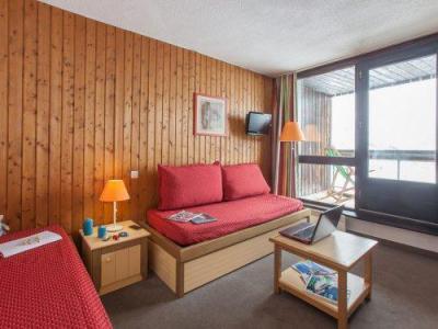 Vacances en montagne Résidence Pierre & Vacances les Combes - Les Menuires - Banquette-lit