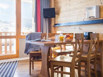 Vacances en montagne Appartement 2 pièces 5-7 personnes - Résidence Pierre & Vacances les Constellations - La Plagne