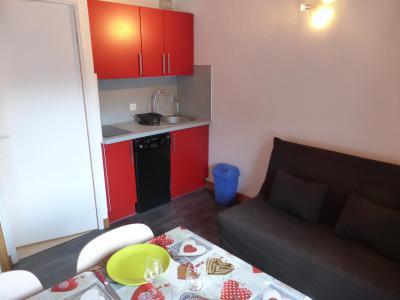 Urlaub in den Bergen 2-Zimmer-Appartment für 5 Personen (F406) - Résidence Pierres Blanches - Les Contamines-Montjoie - Kochnische