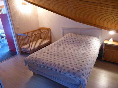 Urlaub in den Bergen 2-Zimmer-Appartment für 5 Personen (F406) - Résidence Pierres Blanches - Les Contamines-Montjoie - Mansardenzimmer
