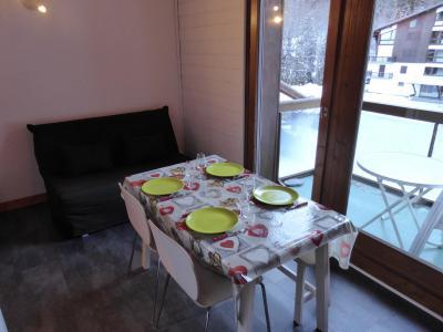 Urlaub in den Bergen 2-Zimmer-Appartment für 5 Personen (F406) - Résidence Pierres Blanches - Les Contamines-Montjoie - Tisch
