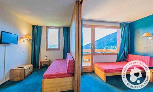Vacances en montagne Studio 4 personnes (Sélection 28m²-2) - Résidence Planchamp et Mottet - Maeva Home - Valmorel - Extérieur été