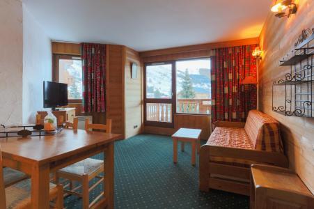 Vacances en montagne Appartement 2 pièces 6 personnes - Résidence Plein Sud - Les 2 Alpes - Séjour