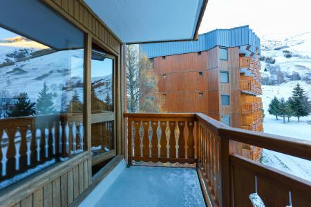 Vacances en montagne Studio 2 personnes - Résidence Plein Sud - Les 2 Alpes - Balcon