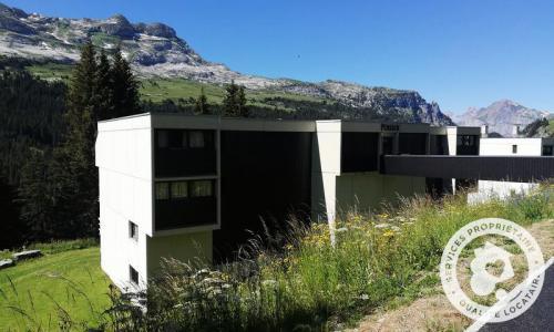 Wakacje w górach Résidence Pollux - Maeva Home - Flaine - Na zewnątrz latem