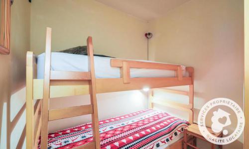 Wakacje w górach Studio kabina 4 osoby (Budget 23m²-0) - Résidence Pollux - Maeva Particuliers - Flaine - Łóżkami piętrowymi