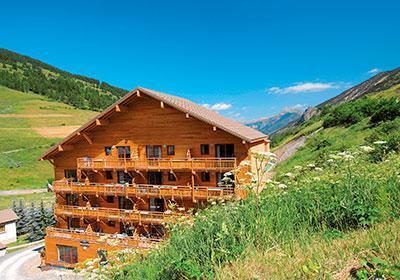 Location au ski Residence Pra Sainte Marie - Vars - Extérieur été