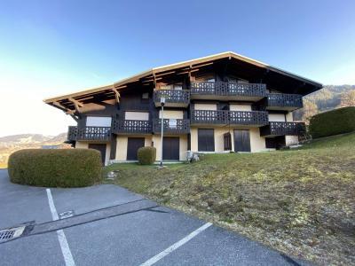 Аренда на лыжном курорте Квартира студия со спальней для 4 чел. (009) - Résidence Praz les Pistes - Praz sur Arly - летом под открытым небом