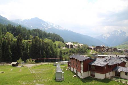 Location au ski Studio coin montagne 3 personnes (010) - Résidence Prés du Bois - Val Cenis - Extérieur été