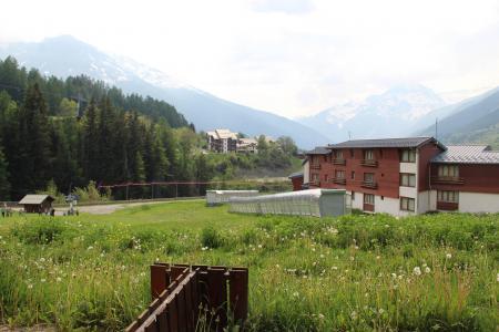 Location au ski Studio coin montagne 4 personnes (001) - Résidence Prés du Bois - Val Cenis - Extérieur été