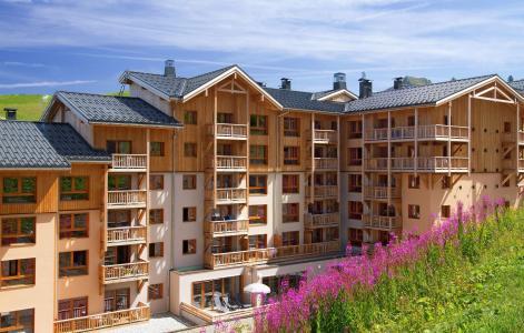Rent in ski resort Résidence Prestige Front de Neige - La Plagne - Summer outside