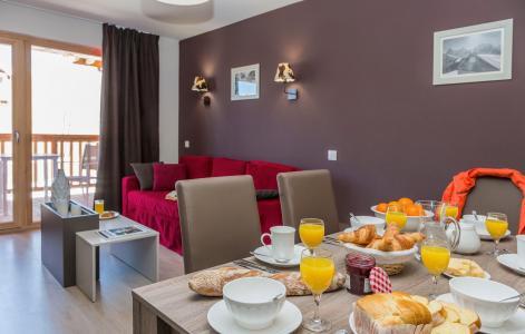 Holiday in mountain resort Résidence Prestige Front de Neige - La Plagne - Dining area