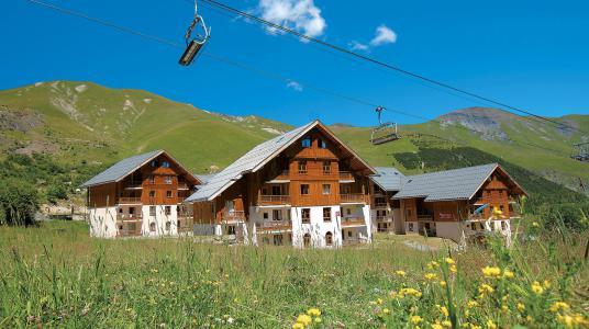 Location au ski Résidence Prestige l'Orée des Pistes - Saint Sorlin d'Arves - Extérieur été