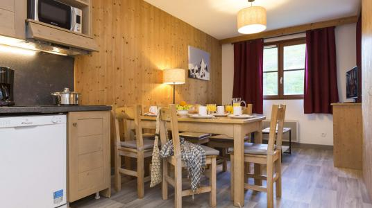 Vacances en montagne Résidence Prestige l'Orée des Pistes - Saint Sorlin d'Arves - Table