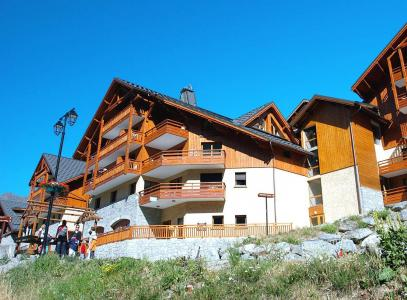 Location Vaujany : Résidence Prestige la Cascade - les Epinettes été