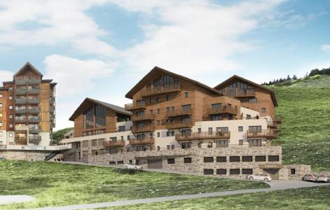 Location au ski Résidence Prestige Rochebrune Les Cimes - Orcières Merlette 1850 - Extérieur été