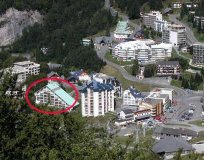 Location au ski Studio 6 personnes (PRI53) - Residence Primeveres - Gourette - Extérieur été