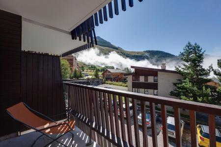 Vacances en montagne Appartement 2 pièces coin montagne 6 personnes - Résidence Quirlies - Les 2 Alpes - Balcon