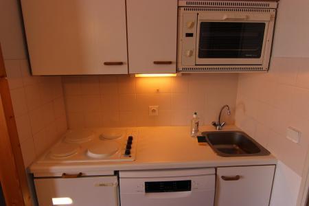 Vacances en montagne Appartement 2 pièces cabine 4 personnes (112) - Résidence Reine Blanche - Val Thorens - Cuisine