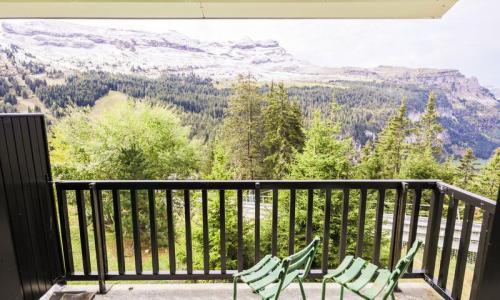 Wakacje w górach Apartament 2 pokojowy 6 osób (Budget 37m²-1) - Résidence Sagittaire - Maeva Home - Flaine - Na zewnątrz latem