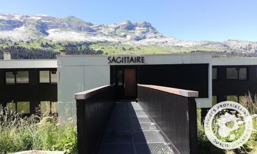 Wakacje w górach Résidence Sagittaire - Maeva Home - Flaine - Na zewnątrz latem