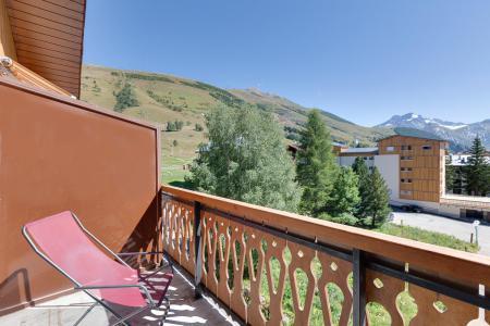 Rent in ski resort 2 room apartment sleeping corner 6 people - Résidence Saint Christophe - Les 2 Alpes - Summer outside