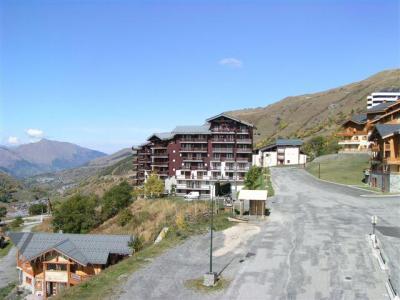 Location au ski Studio cabine 2 personnes (501) - Residence Sarvan - Les Menuires - Extérieur été