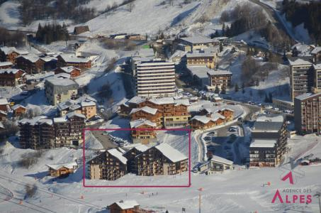 Vacances en montagne Résidence Sarvan - Les Menuires