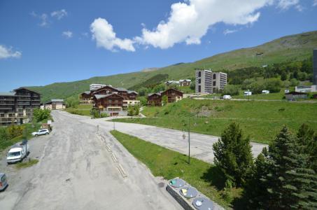 Vacances en montagne Studio cabine 2 personnes (501) - Résidence Sarvan - Les Menuires - Extérieur été