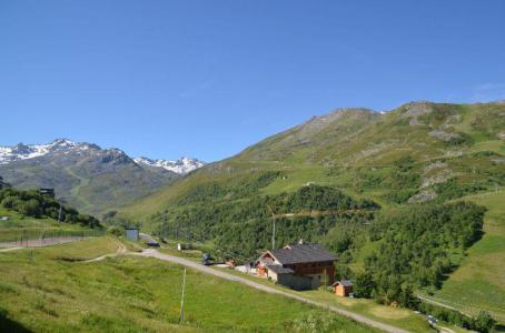 Location au ski Studio cabine 4 personnes (509) - Residence Sarvan - Les Menuires - Extérieur été