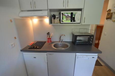 Vacances en montagne Studio cabine 2 personnes (501) - Résidence Sarvan - Les Menuires - Cuisine
