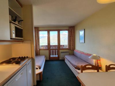 Vacances en montagne Appartement 2 pièces 5 personnes (104) - Résidence Sextant - Montchavin La Plagne - Banquette-lit