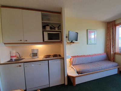 Vacances en montagne Appartement 2 pièces 5 personnes (104) - Résidence Sextant - Montchavin La Plagne - Kitchenette