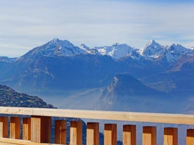 Аренда на лыжном курорте Résidence Ski Heaven Veysonnaz - Veysonnaz - летом под открытым небом