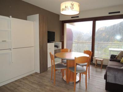 Vacances en montagne Studio cabine 4 personnes (8) - Résidence Solarium - Châtel - Séjour