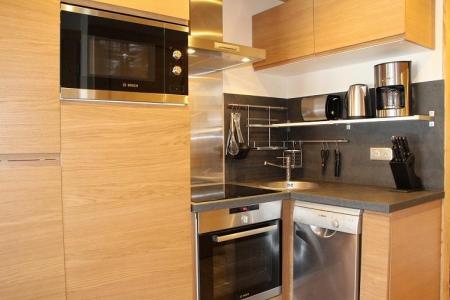 Vacances en montagne Appartement 2 pièces cabine 4 personnes (104) - Résidence Soldanelles - Les Menuires - Kitchenette