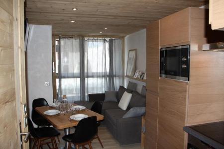 Vacances en montagne Appartement 2 pièces cabine 4 personnes (104) - Résidence Soldanelles - Les Menuires - Séjour