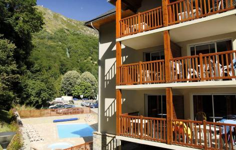 Location au ski Résidence Soleil d'Aure - Saint Lary Soulan - Extérieur été