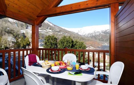 Vacances en montagne Résidence Soleil d'Aure - Saint Lary Soulan - Balcon