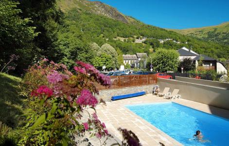 Vacances en montagne Résidence Soleil d'Aure - Saint Lary Soulan - Piscine