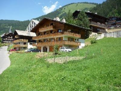 Rent in ski resort Résidence Squaw Valley - Châtel - Summer outside