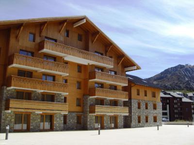 Location au ski Résidence Sun Valley - La Plagne - Extérieur été