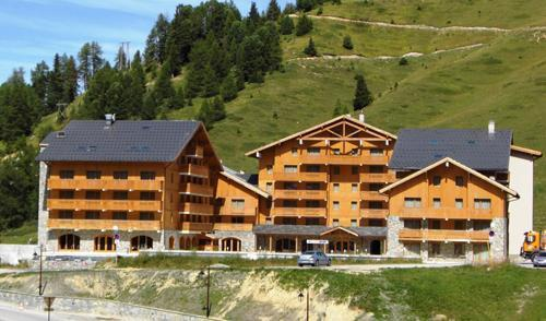 Location au ski Residence Sun Valley - La Plagne - Extérieur été
