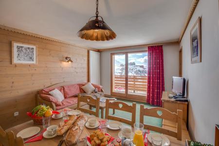 Vacances en montagne Résidence Sun Valley - La Plagne - Table