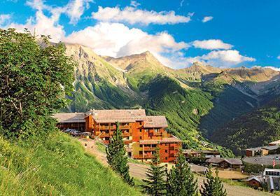 Location au ski Residence Terrasses De La Bergerie - Orcières 1850 - Extérieur été