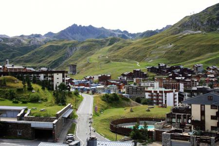 Rent in ski resort 2 room apartment sleeping corner 6 people (32CL) - Résidence Tour du Lac - Tignes - Summer outside