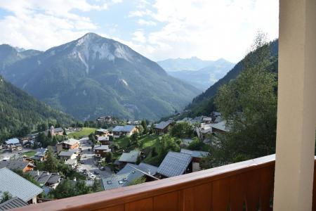 Rent in ski resort 3 room apartment 4 people (19) - Résidence Tour du Merle - Champagny-en-Vanoise - Summer outside